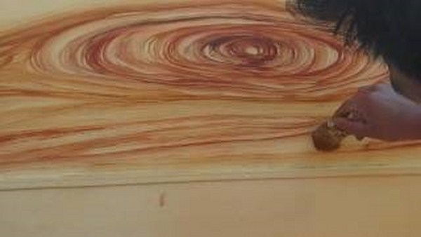 Cách sơn giả vân gỗ